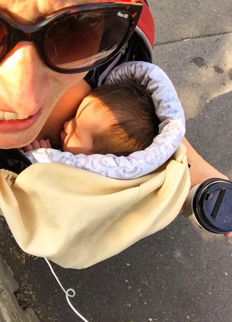 Ergobaby 360 sling - baby checklist