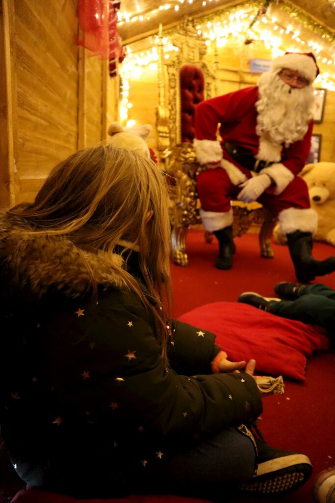 Where to see Father Christmas in Bristol