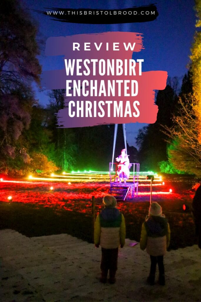 Review Walking in a Westonbirt Christmas Wonderland - a magical outdoor experience