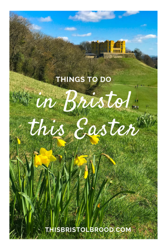 Things to do in Bristol with kids this Easter - Stoke park estate daffodils