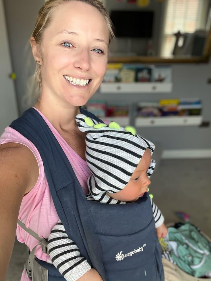 best newborn sling for back support