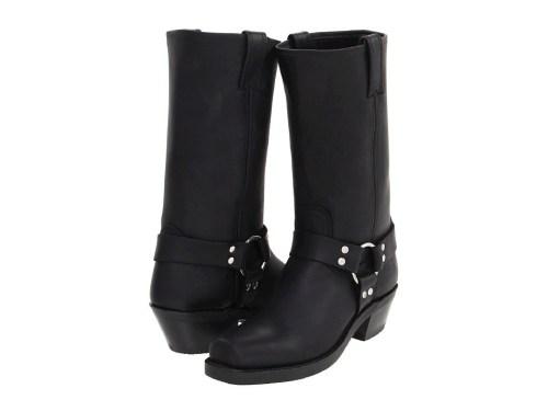 Frye Black Harness boots in 12R