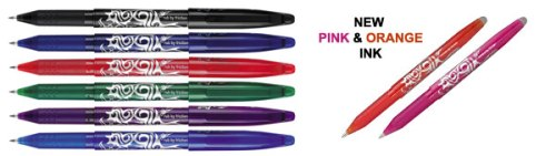 You can buy this set of 8 Frixion rollerball pens for £12.99 at Cultpens