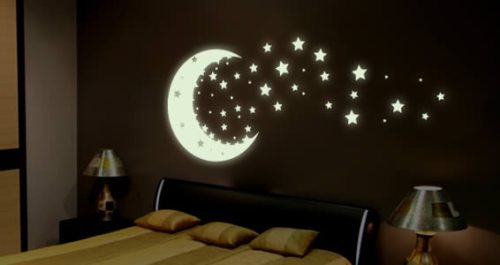 glow-the-dark-moon-and-stars-decals