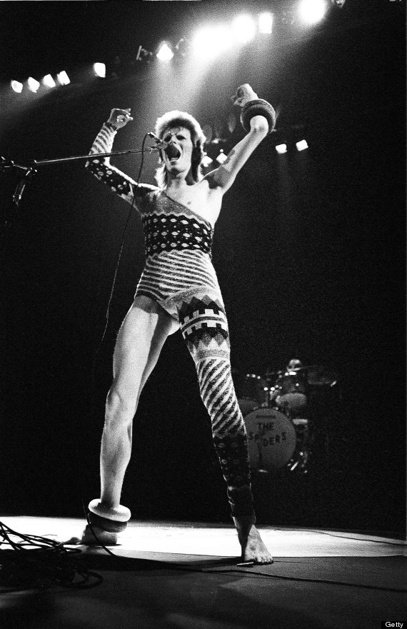 David Bowie Performs Live In London 1973
