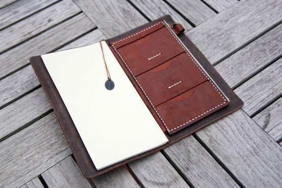 Notebook cover, credit card holder and pen holder - find it here