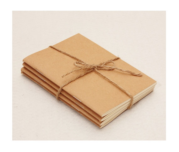 Special offer of 4 passport size notebooks - find it here