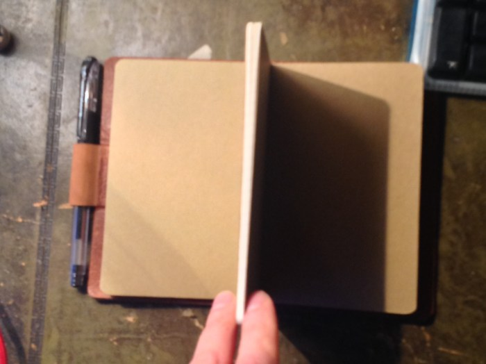 Three Moleskine notebooks - one lined, one graph and one blank
