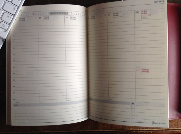 Week on Two Pages Flex Notebook