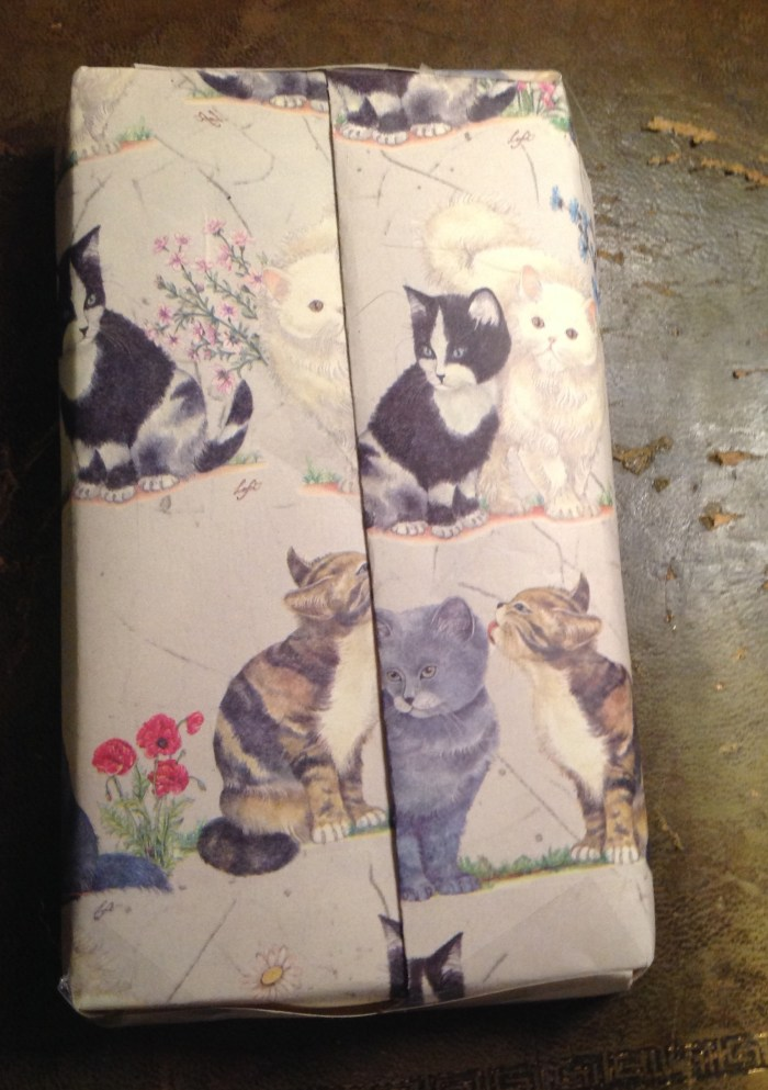 Beautifully packages inserts - I love black and white cats so these were right up my alley!