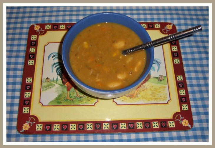 (3) Lentil & Butter Bean Soup