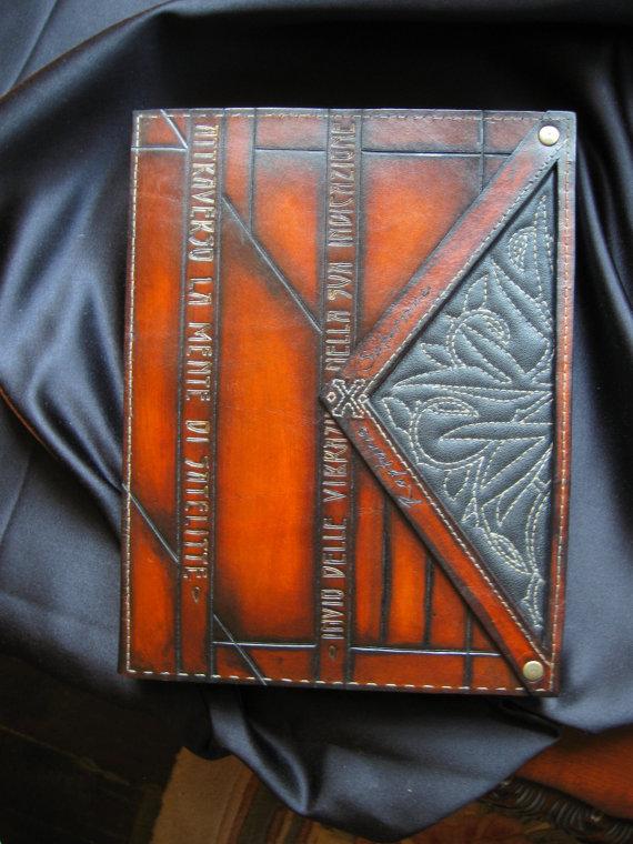 One of my journals - handmade by Jonathan Vanderholm