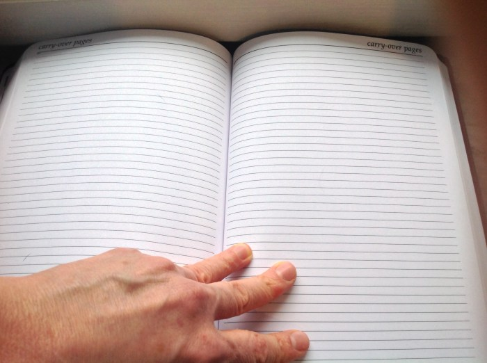 carry-over pages
