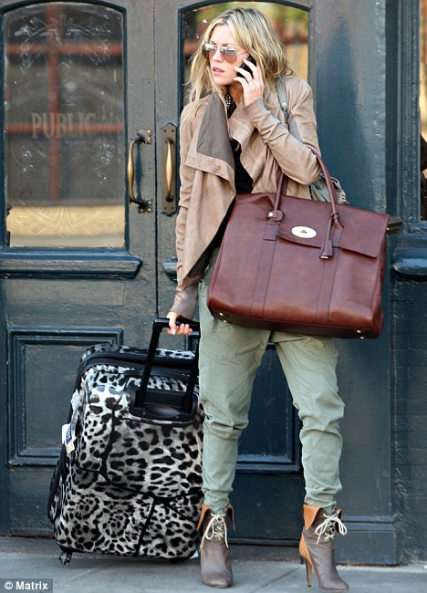 Mulberry Picadilly, carried by Abbey Clancy