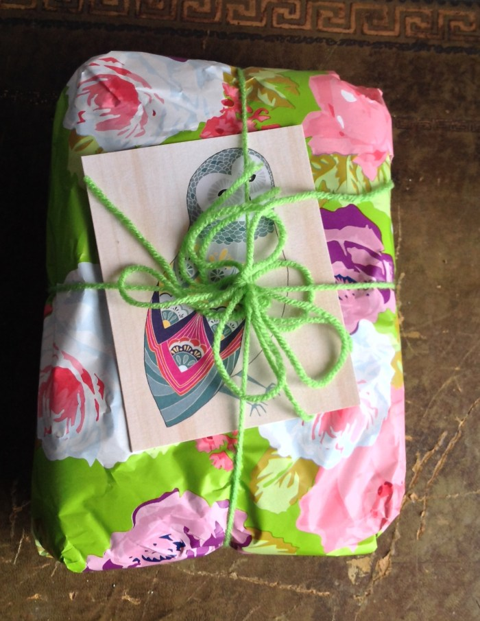 Beautifully wrapped with a lovely card