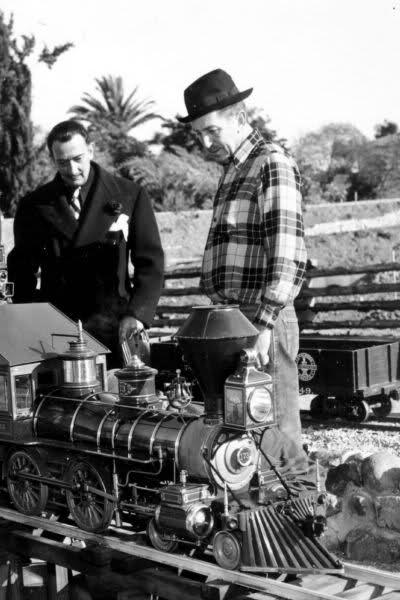 Walt Disney and Salvador Dali