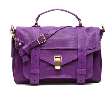 Veruca salt is, as you can see on the red side of purple. I much prefer the blue side.