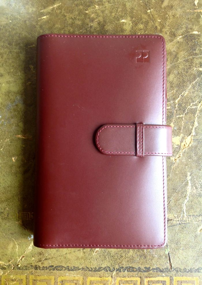 Gorgeous soft leather with the ProPlan name on the cover