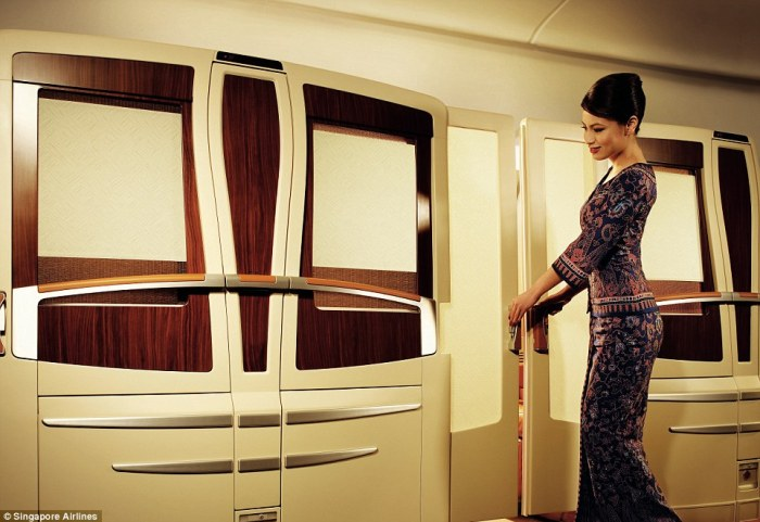 Singapore Airlines. One way tickets start at £2000