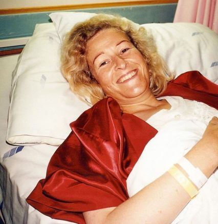 Two weeks after I got married I was rushed for emergency surgery. Thought I was going to die. Had to borrow a nightie.