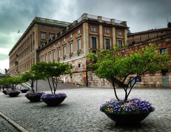 Stockholm Palace taken 16 June 2013 by Cecilia Dalman-Eek