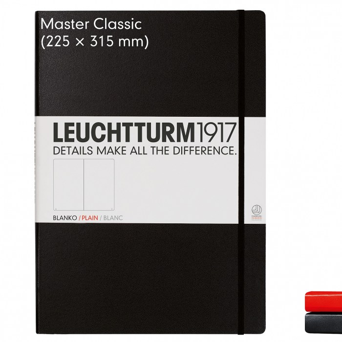 notebook-master-classic-a4-hardcover-233-numbered-pages