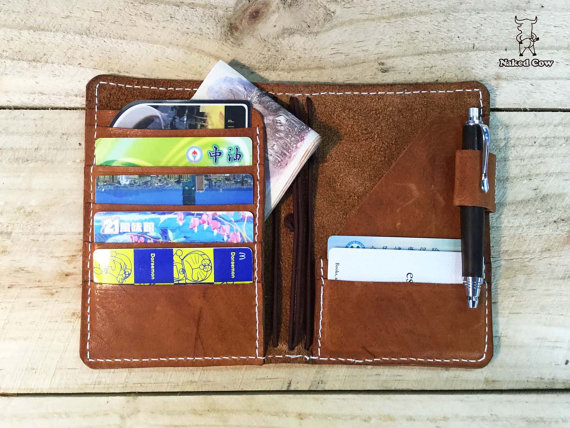Field Notes sized wallet/notebook