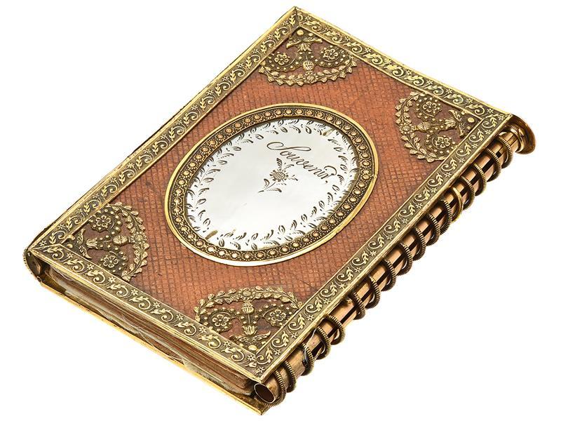 Calendar binder from 1824