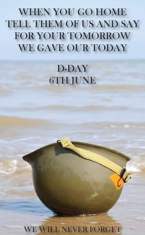 In memory of the Normandy Landings aka D-Day