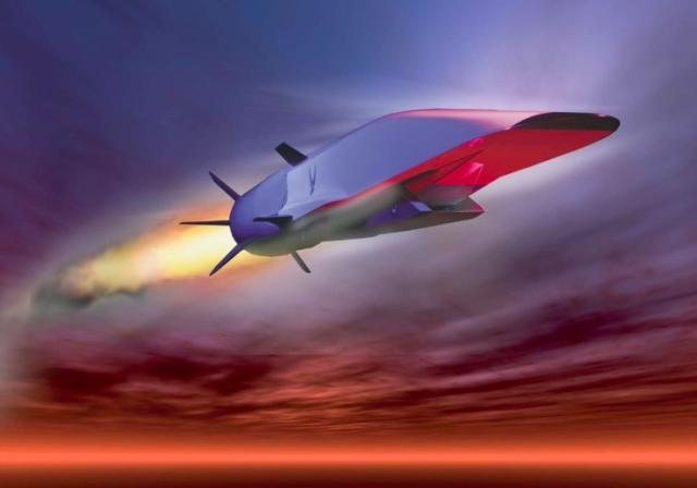 Proposed New missile race? US hupersonic nuclear cruise missile, intended to 'catch up' with a Russian hypersonic weapon (USAF graphic)