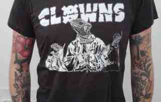 Clowns - Reptiloid Shirt als TCM-only Special!