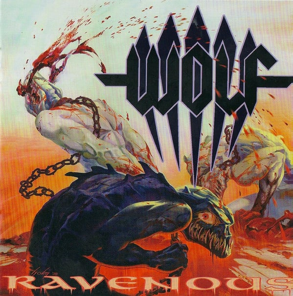 Wolf Ravenous Cover