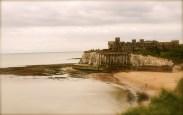 Tide receding in Sepia
