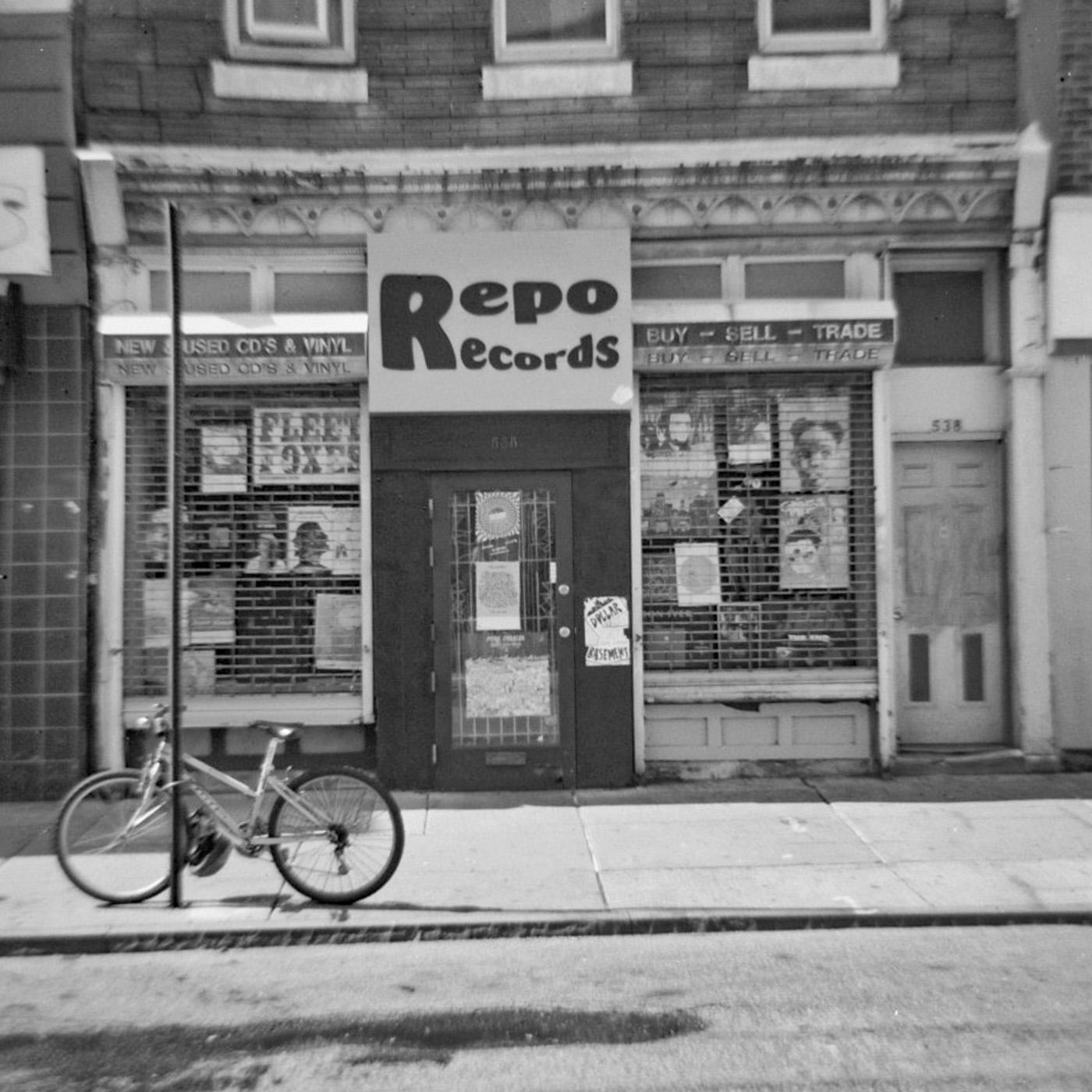 Black and White Repo Records