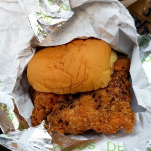 Spicy Chicken Sandwich from Fuku