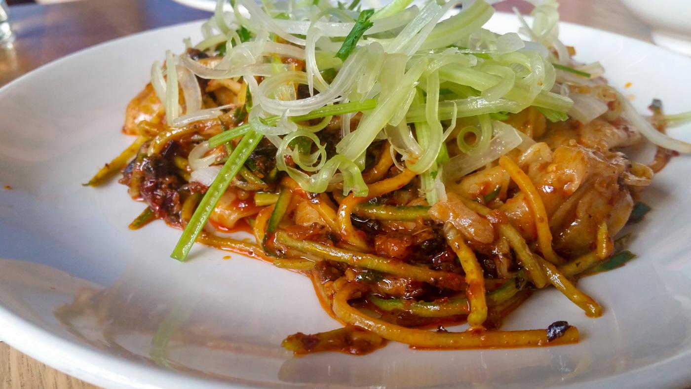 Spicy Hand Cut Noodles at Momofuku CCDC