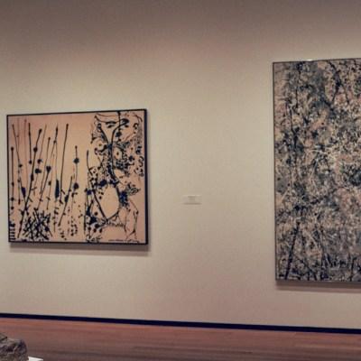 Giacometti and Pollock