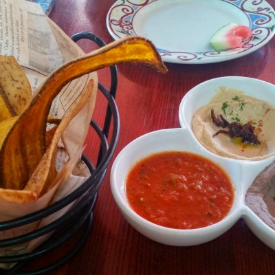 Tropical Chips and a Trio of Dips at Cuba Libre