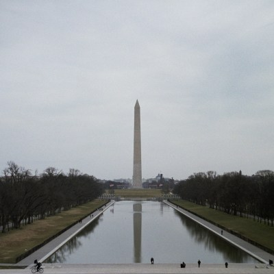 Washington Monument and Lincoln Memorial Reflecting Pool