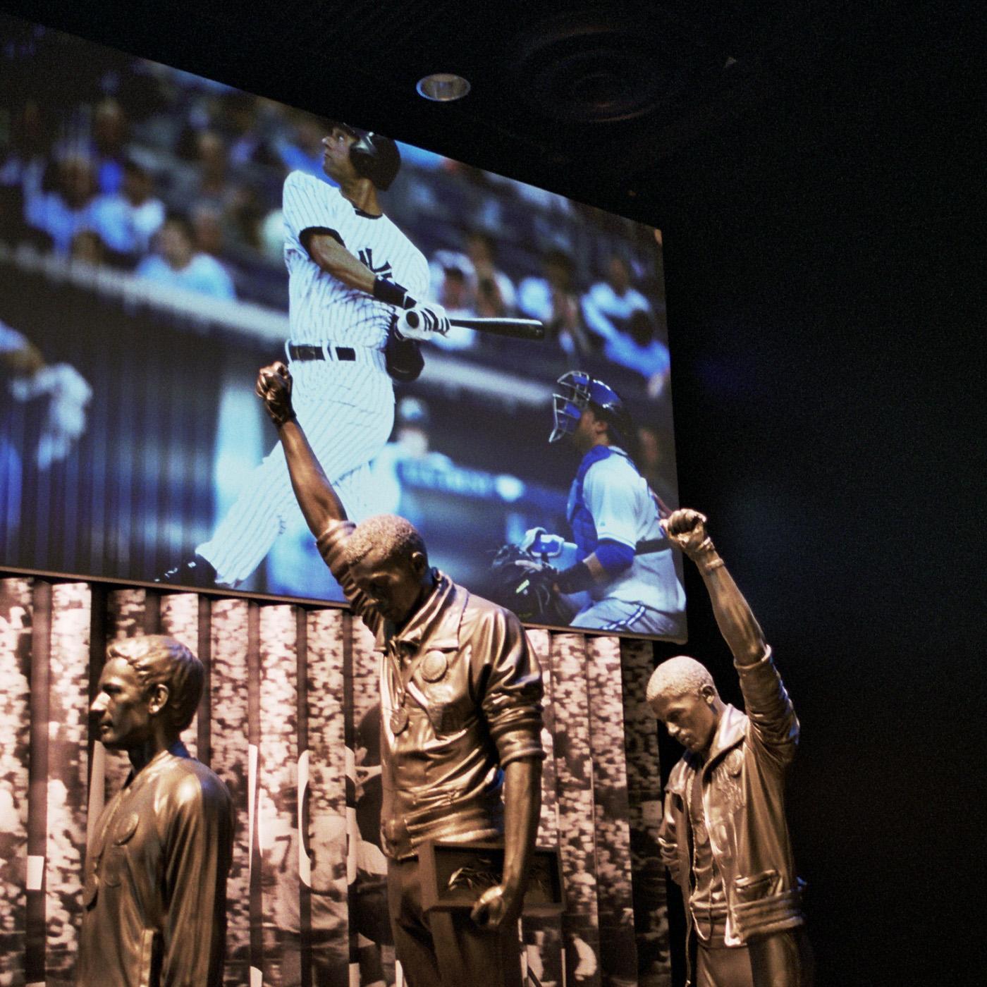 1968 Olympics Black Power Salute Statue