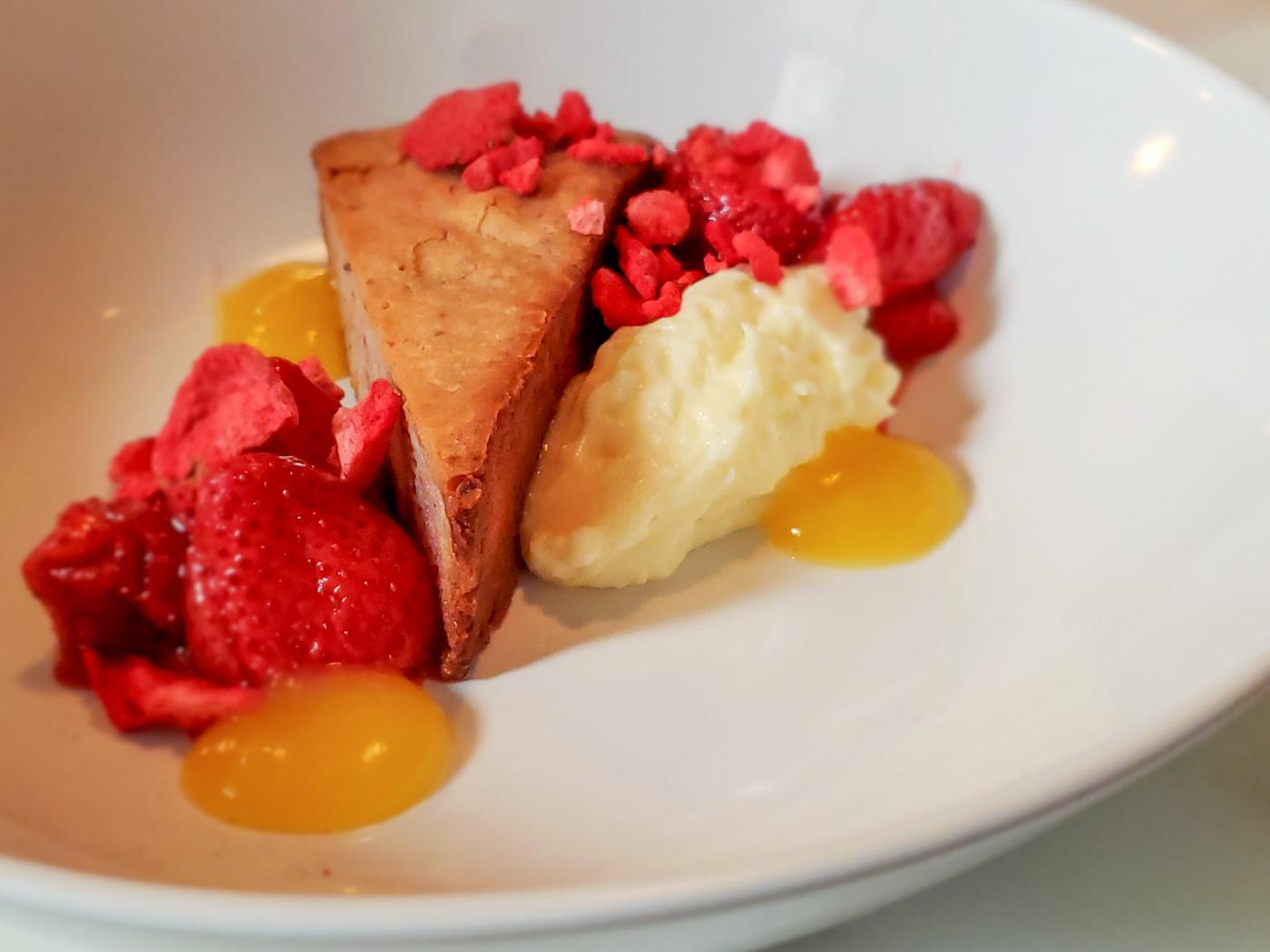 Strawberry Dessert at Rex1516