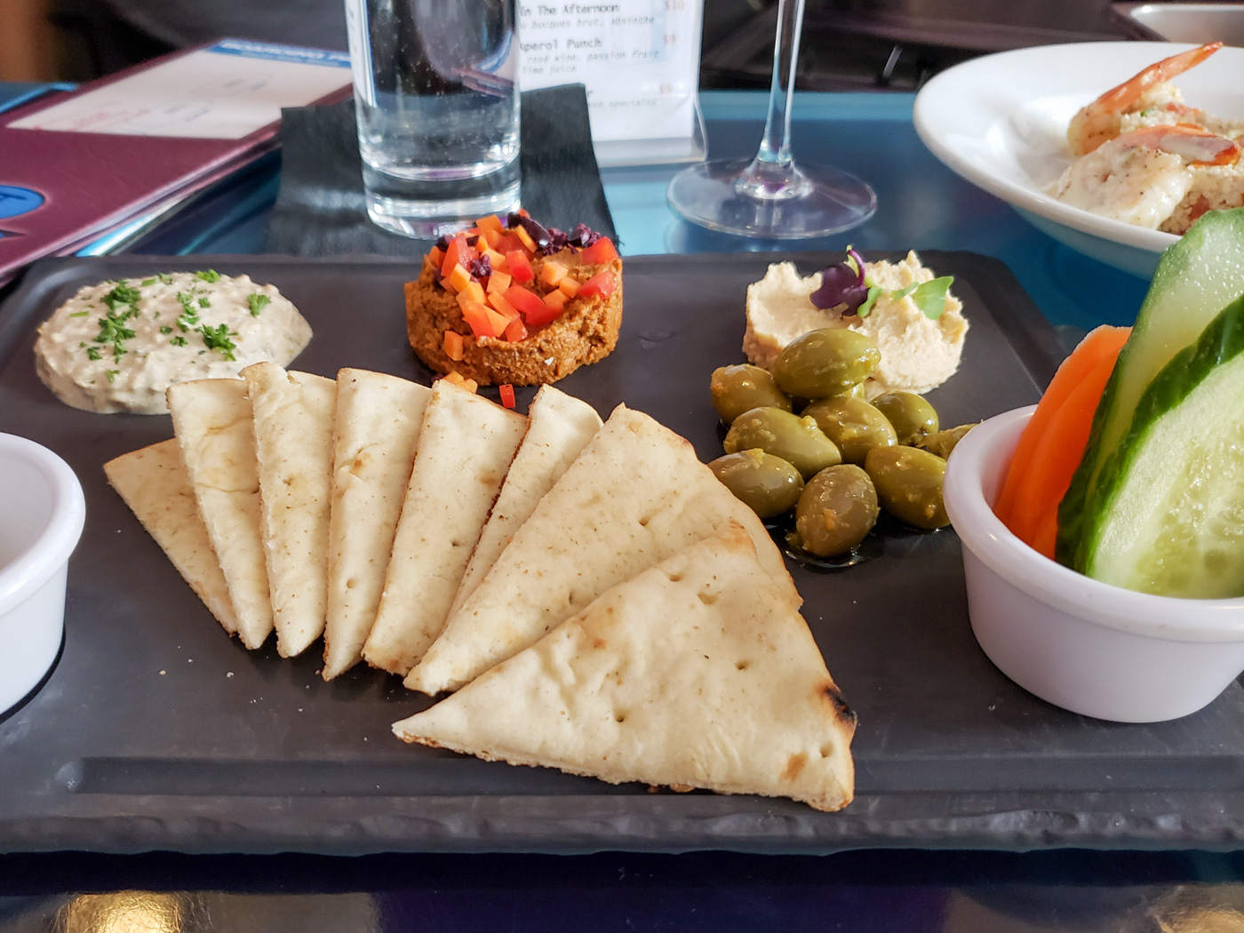 Middle Eastern Platter at Jet Wine Bar