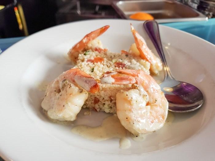 Lemon Shrimp at Jet Wine Bar