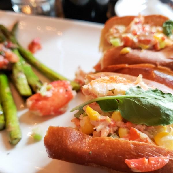 Lobster Roll at Devon Seafood Grill