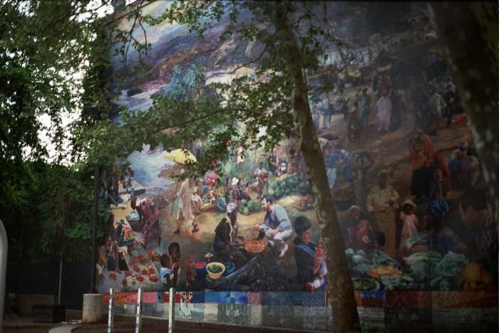 Schoolyard Mural