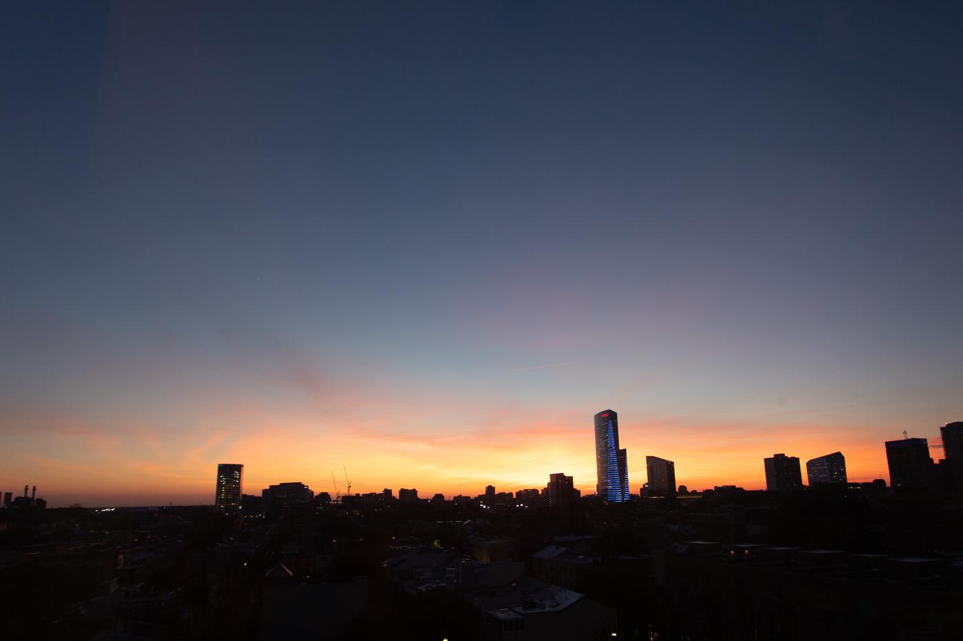 Wide Angle Sunset