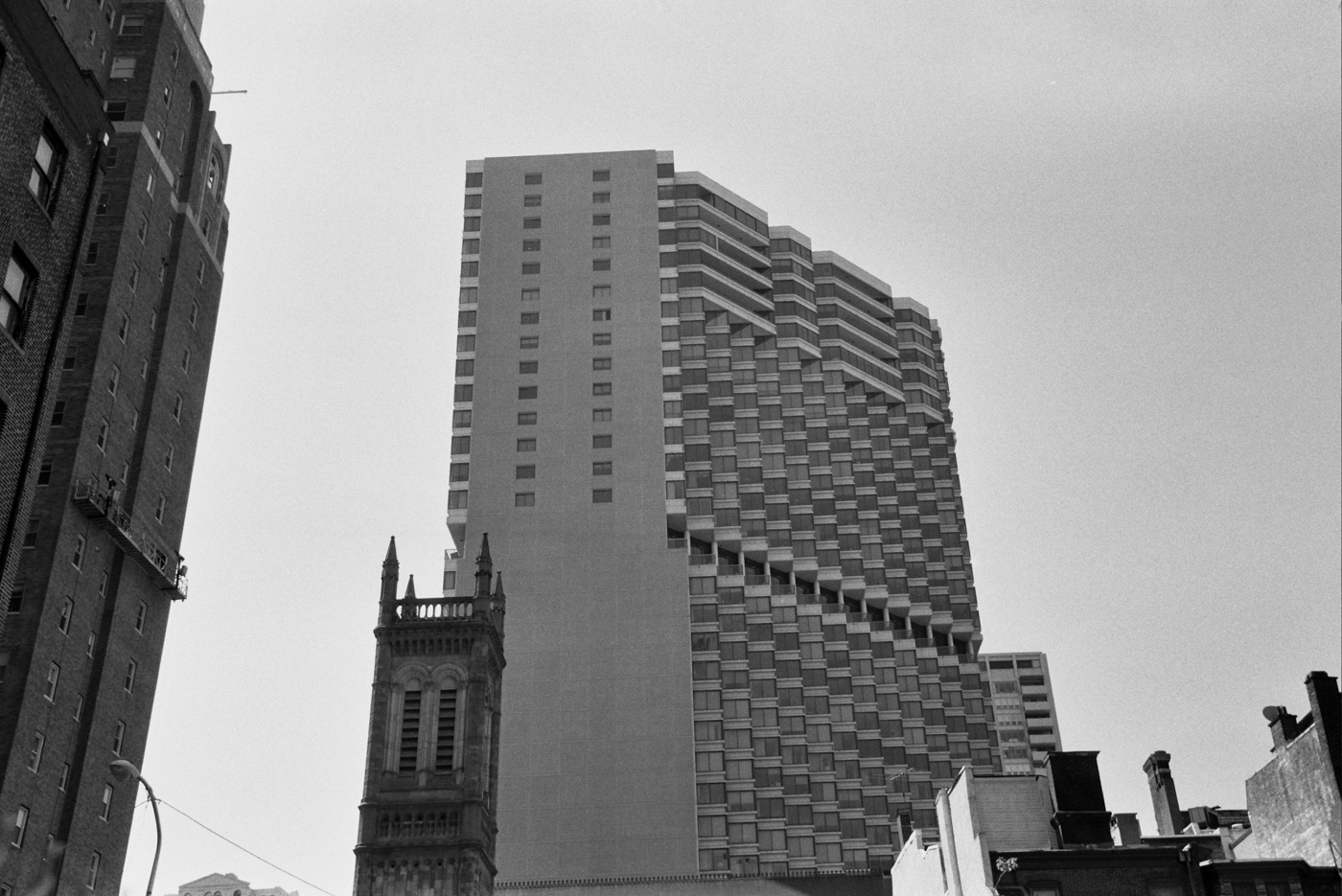 Church of the Holy Trinity and the Rittenhouse Hotel