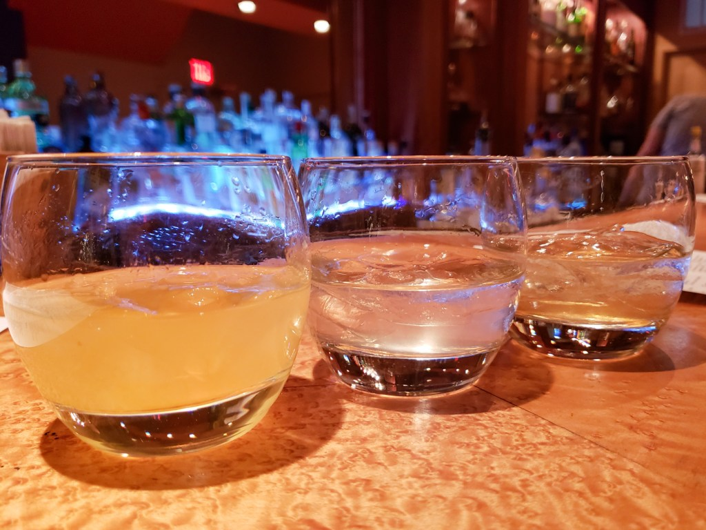 Gin and Tonic Flight at The Gin Joint
