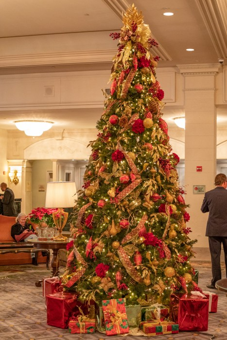 Christmas at the Omni Shoreham Hotel