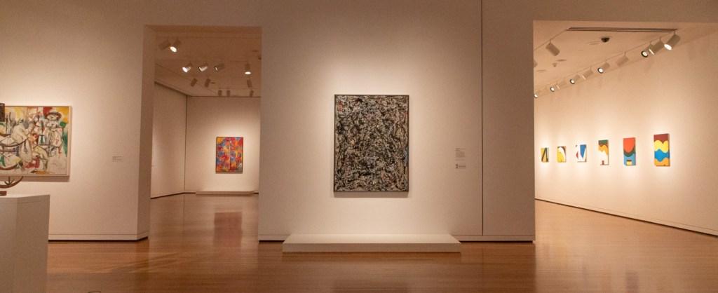 Jackson Pollock's Sea Change